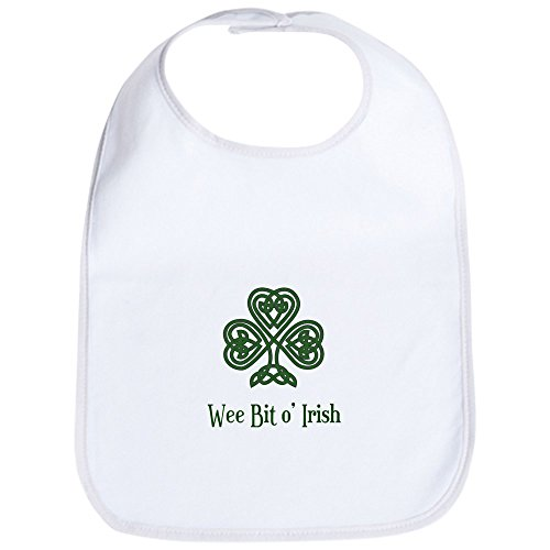 CafePress - Wee Bit o Irish Bib - Cute Cloth Baby Bib, Toddler Bib