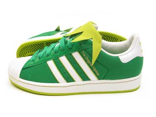 adidas Superstar II Kermit the Frog Men's Shoes G49999 (9) Green