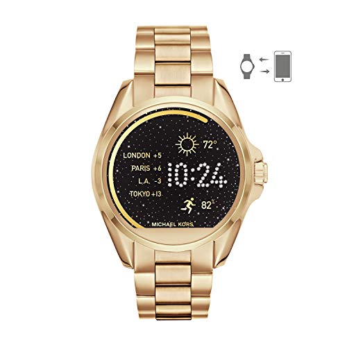 Michael Kors Access Women's Smartwatch Bradshaw Gold-Tone Stainless Steel MKT5001
