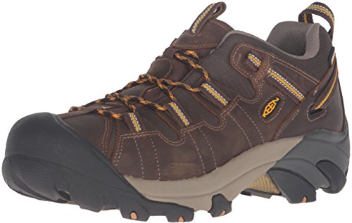 - Keen Men's Targhee II WP Cascade Brown/Golden Yellow Hiking Boot - 10.5 2E US