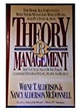 Theory R Management : How to Utilize Value of the Person Leadership Principles of Love, Dignity and Respect, Alderson, Wayne T. and McDonnell, Nancy A., 0840791488