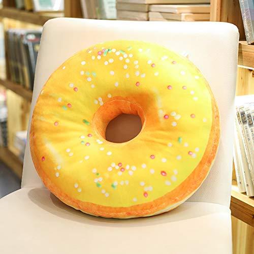 DYHGDHFY - Almohada de Oficina con Forma de Donut, 35 ...
