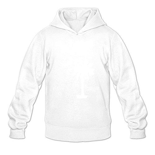 (South Carolina Joke White Long Sleeve Hoodie For Adult Size)