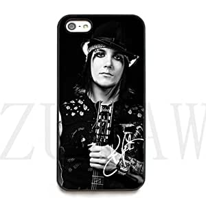Synyster Gates signed HD image phone cases for iPhone 5c ( HD Hard Material)