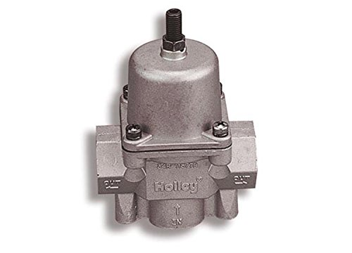 Holley 12-704 Fuel Pump Fuel Pressure Regulator