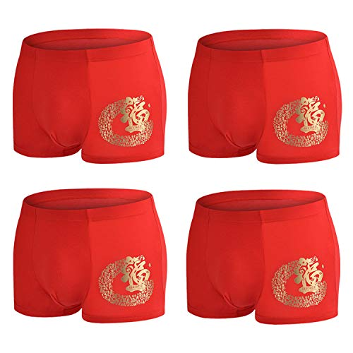 - YOULEHE Men's Underwear Soft Bamboo Boxer Briefs Stretch Trunks Pack (XX-Large, 4 Pack 06)