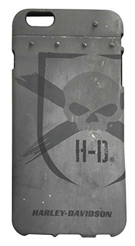 Harley-Davidson iPhone 6 Plus Shell, Distressed Willie G Skull TPU Case 07730