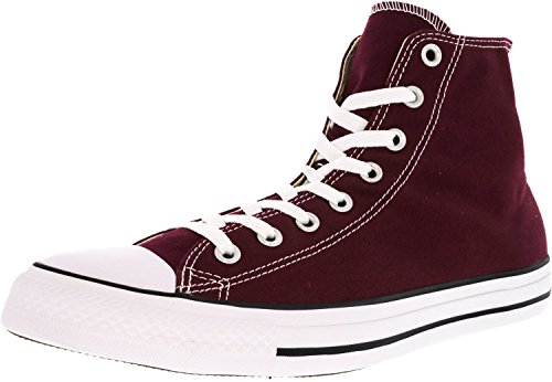Converse Mens Chuck Taylor All Star Core Hi Burgundy