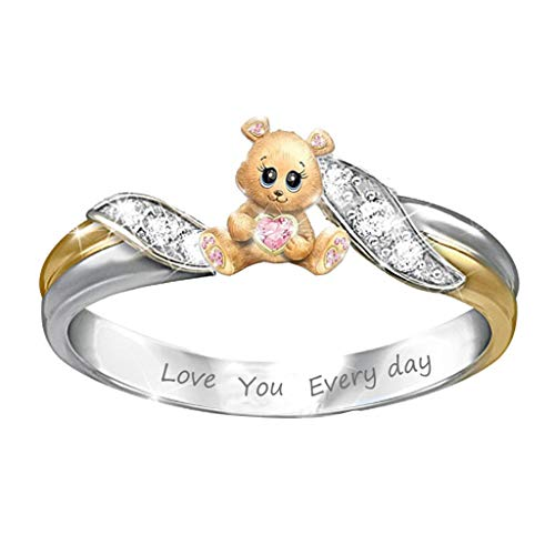 Mother\'s Day Animal Ring-\