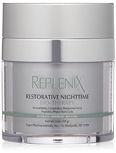 Replenix Restorative Nighttime Bio-Therapy Night Cream with Peptides and Ceramides, 2 Oz ()