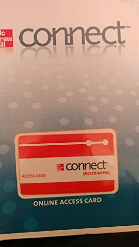 Connect card to accompany Financial and Managerial Accounting 3e