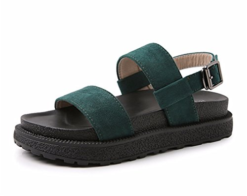 Gucken HN Flops Damen Schuhe Gurt Knöchel Schule Sommer Böhmen römisch Strand Flip Shoes Eben Schule Zehe Sandalen Runden n6r5TwtnxF
