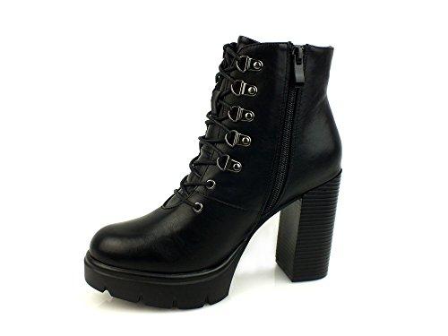 CafèNoir - Botas para mujer * negro