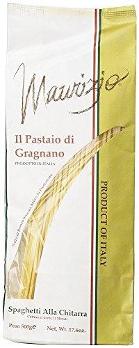 Maurizio - Italian Spaghetti Alla Chitarra, (4)- 17.6 oz. Pkgs. by Maurizio