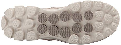 Skechers Performance Mens Go Walk 3 Srotolare Slip-on Walking Shoe Stone