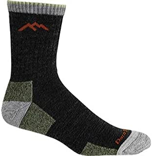 product image for Darn Tough Vermont Micro Crew Sock Cushion 1466 Socks,Lime,XL