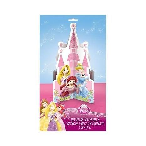 Amazon.com: Gran Decoracion Para Centro De Mesa Fiestas De Cumpleaños Princesas Disney: Toys & Games