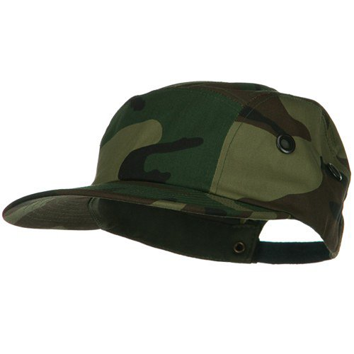 5 Panel Camouflage Twill Cap - Camo W36S61D