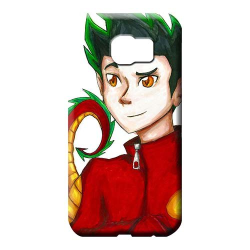 Phone Phone Cover Skin American Dragon Jake Long CasesCovers Protector Hybrid Samsung Galaxy S6 Edge