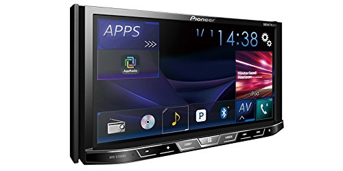 Pioneer AVH-X490BS Double Din Bluetooth In-Dash DVD/CD/Am/FM Car Stereo Receiver with 7-Inch WVGA Display/Sirius Xm-Ready (Car Displays & Video Player Dvd)