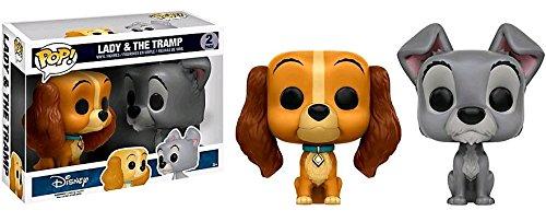 Funko - Figurine Disney - Lady & The Tramp Exclusive Bi-Pack Pop 10cm - 0889698114769