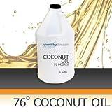 Coconut Oil 76 Degree 1 Gallon Bottle