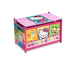 Delta Children Toy Box, Hello Kitty
