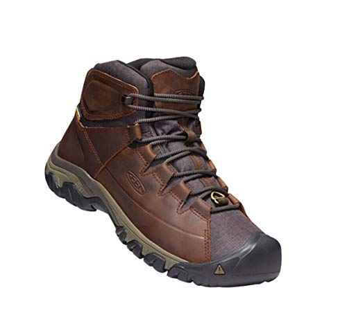 KEEN Men's Targhee Lace Boot Cocoa/Mulch WP 12 M US