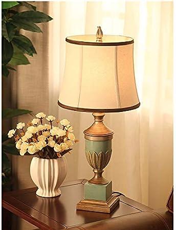FKYGDQ Lampe de Chevet en résine de Chambre à Coucher de