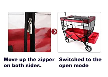 Mosquito Net for Kids Wagon Cover Fits EasyGo Wagon Insect Netting for baby