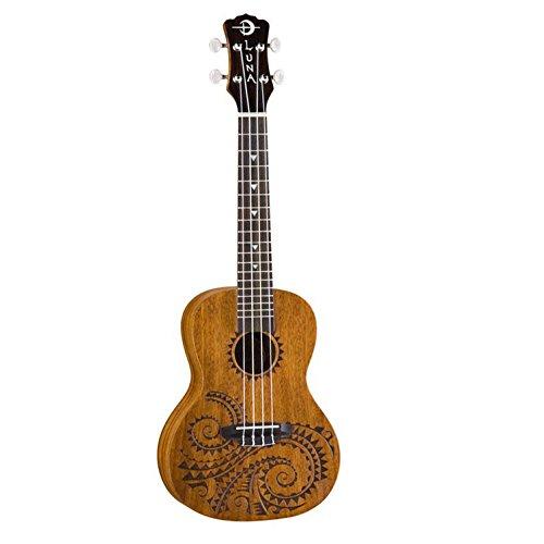 Luma Mahogany Series Tattoo Concert ukulele