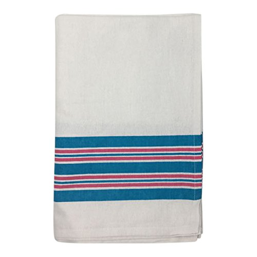 Nobles Hospital Receiving Blankets, Baby Blankets, 100% Cotton, 30x40, Stripe (Pack of 3)