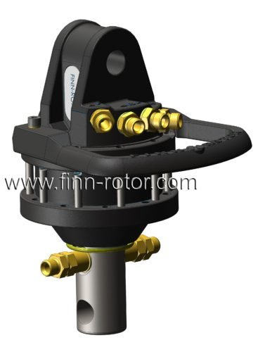 Garra motor de deriva Mini excavadora Finn ROTATOR CR300 pinzas gr/úa