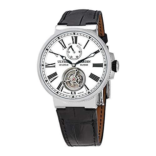 Ulysse Nardin Marine Tourbillon Automatic White Enamel Dial Men's Watch 1283-181/E0 (Ulysse Nardin Mens Marine)