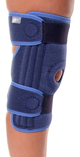 66Fit Elite Stabilized - Protección de rodilla, color azul PO-66FSOK