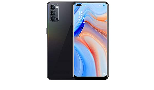 Original Oppo Reno 4 5G Smartphone 8G+256GB Snapdragon 765G Octa Core 48MP Camera 6.4inch AMOLED 4020mAh 65W SupperVOOC2.0 NFC Support Google by-(Real Star Technology) (Black 8+256)