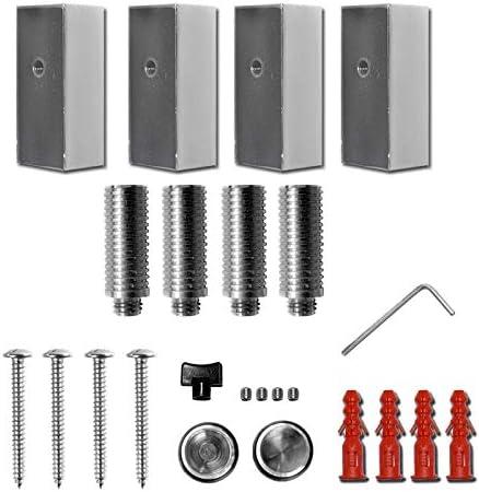 Bulk Hardware BH02526 Vis dassemblage /à t/ête frais/ée//fente avec /écrou plaqu/ée au zinc brillant Set de 25 Pi/èces