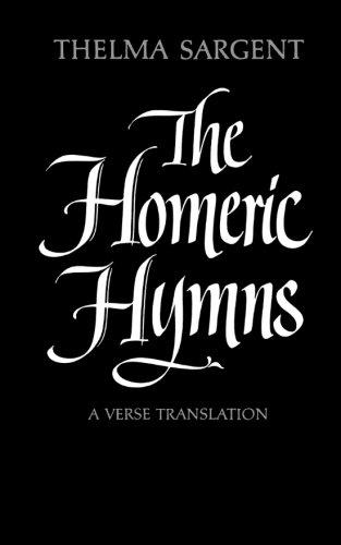The Homeric Hymns: A Verse Translation