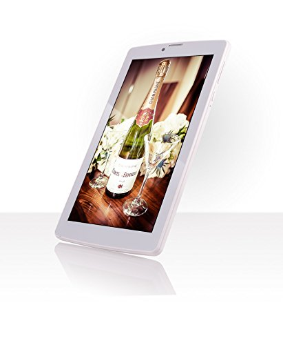 FUSION5 Tablet (7 inch, 16GB, Wi-Fi+ 3G+ Voice Calling), White
