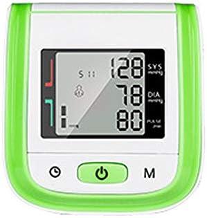 YMHL Monitor automático de presión Arterial en el Brazo - Precisión médica - Lecturas rápidas y precisas, 2 usuarios, 180 memorias de Lectura, Pantalla retroiluminada, transmisión de Voz