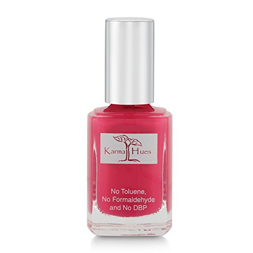 Karma Organic Nail Polish; Non-Toxic, Vegan, and Cruelty-Free (FARMER'S MARKET BERRIES)