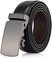 Men's Belt - Autolock Leather Ratchet Dress Belt for Men With Automatic Buckle - Enclosed in an Elegant Gi