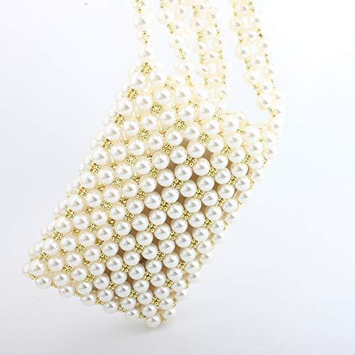 Bandouliere Fille Sac Rangement Mariage Chaîne A Soiree Main Paquet Perle Femme Bqclou De Pochette UX6Bw6