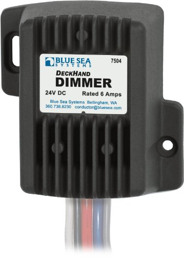 - Blue Sea Systems 24V DC 6A Deckhand Dimmer