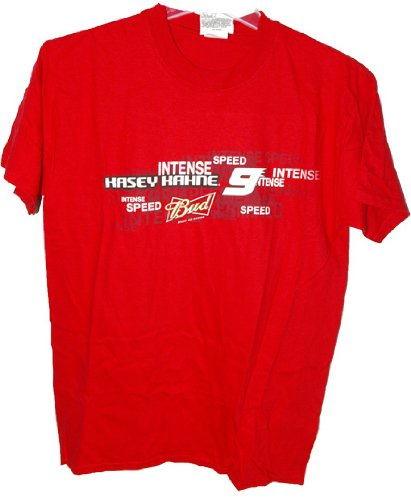 NASCAR Kasey Kahne #9 Winner's Circle Two Sided Red Tee Shirt Adult Medium (Kasey Kahne Red T-shirt)