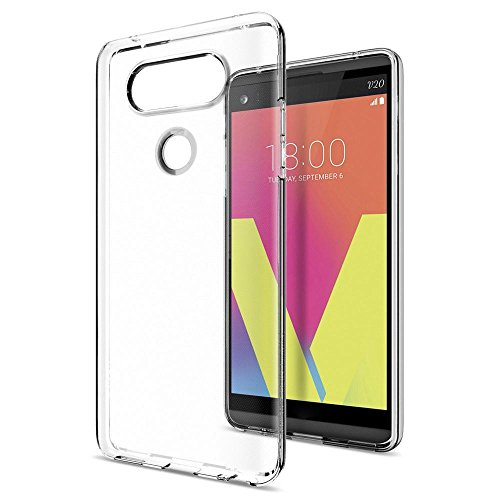 (Nesee New Band Clear Silicone TPU Protective Case Cover Shell Skin For LG V20 (Clear))