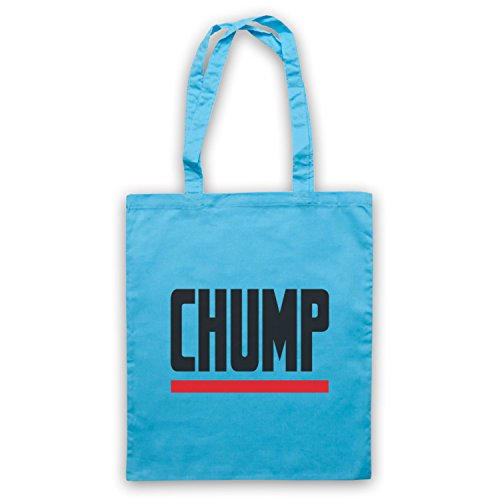 Chump Funny Slogan Bolso Azul Cielo