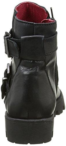 Buffalo ES 30832 Garda, Stivali da Motociclista Donna Nero (Preto 01)