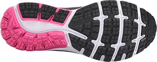 Brooks Women's Ghost 10 Black/Pink Peacock/Living Coral 8 D US by Brooks (Image #2)