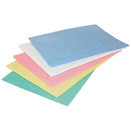 lamatex – lavettes azules no tejidas ajourées HACCP (25 unidades)